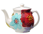 Laurie Gates Design Liza Tea Pot
