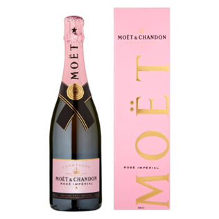 Moet Chandon Rose Champagne 75cl 12%