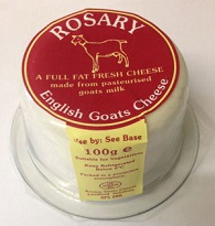 Rosary Goats Cheese 100g