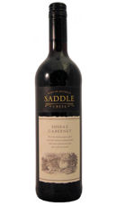 Saddle Creek Shiraz Cabernet 75cl 12.5%