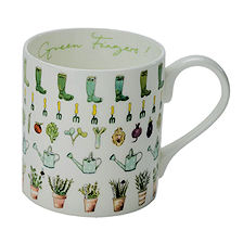 Sophie Allport Large Mug - Green Fingers