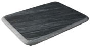 Tg Woodware Black Marble Medium Rectangular Serving Platter