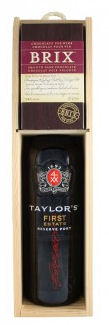 Taylors First Estate Gift Box with Brix Chocolate