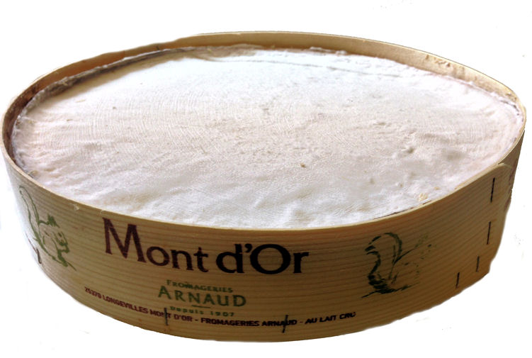 Vacherin Mont d'Or Cutting Cheese