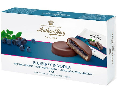 Anthon Berg Blueberry In Vodka 300g