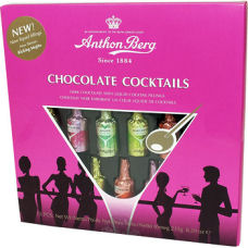 Anthon Berg Chocolate Cocktail Liqueur Bottles 235g 15pc