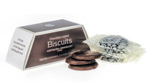 Artisan Du Chocolat Salted Caramel Biscuits Dark