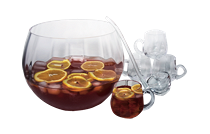 Artland Punch Bowl Set 8pc