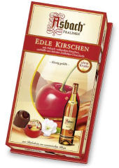 Asbach Cherry And Brandy Chocolate Liqueurs 100g