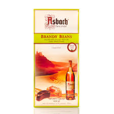 Asbach Brandy Chocolate Beans 200g 8pc