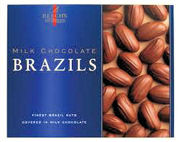 Beechs Milk Chocolate Brazil Nuts  160g