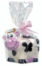 Ceramic Cow with Belgian Chocolates 200g