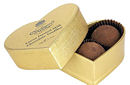 Charbonnel Walker Mini Gold Heart Truffles 34g 3Pc