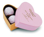 Charbonnel Walker Mini Pink Heart Truffles 34g 3Pc