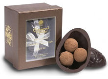 Charbonnel Walker Dark Chocolate Easter Egg with Champagne Truffles 115g
