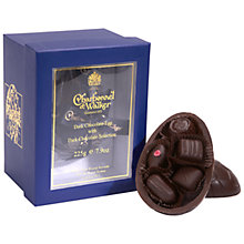 Charbonnel Walker Dark Chocolate Easter Egg with Dark Chocolates 225g