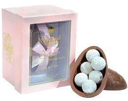 Charbonnel Walker Easter Egg with Pink Champagne Truffles 225g