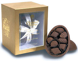 Charbonnel Walker Milk Chocolate Easter Egg with Milk Chocolates 225g