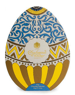 Charbonnel Walker Easter Egg with Milk and Dark Chocolates