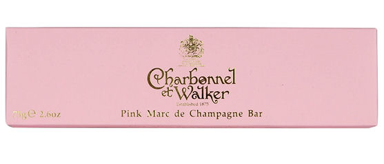 Charbonnel Walker Pink Marc de Champagne Bar