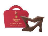 Charbonnel Walker Handbag of Chocolate Heals 60g