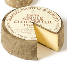 Charles Martell Single Gloucester 1/8 Cheese 300g