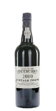Cockburns Vintage Port 2000 75cl