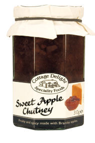Cottage Delight Sweet Apple Chutney 310G