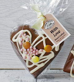 Cottage Delight Chocolate Heart