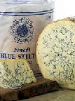 Cropwell Bishop Blue Stilton Truckle 3kg - Bottom Cut