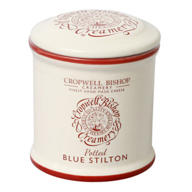 Cropwell Bishop Blue Stilton Ceramic Jar 100g Set of 12