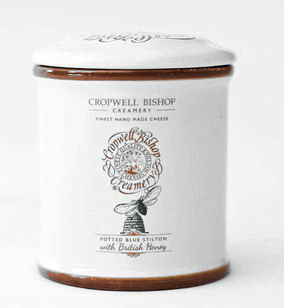 Cropwell Bishop Blue Stilton With Honey 100g Jar