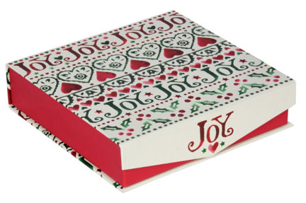 Emma Bridgewater Joy Box of Fancy Fudge 225g