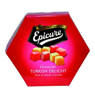 Epicure Turkish Delight Rose and Lemon 325g