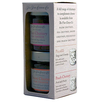 Fine Cheese Company English Chutneys For Cheese Giftbox