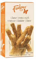 Fudges Cheese Straws 100g