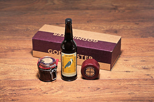 Godminster Cheddar Cider and Chutney Giftset