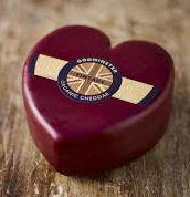 Godminster Cheddar Heart 200g