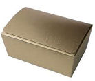Matt Gold Chocolate Box 500g