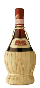 Gonfalone Chianti in Straw Flask 75cl 12%
