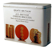 Fine Cheese Company All British Cheese Biscuits Tin 300g