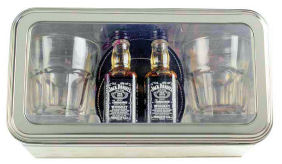 Jack Daniels Giftset Double With Glasses