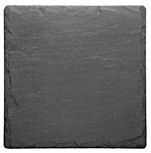 Just Slate Coasters 11cm 4PC