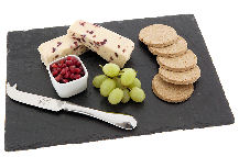 Just Slate Rectangular Cheeseboard 35 x 25cm