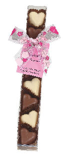 Kimberley Chocolate Caramel Hearts 8pc 90g