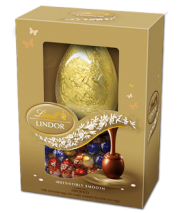 Lindt Easter Egg with Lindor Assorted Mini Eggs 215g