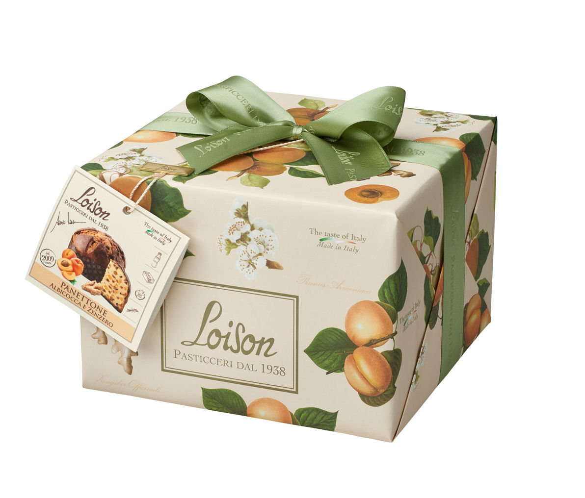 Loison Apricot Ginger Panettone 500g
