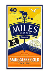 Miles Smugglers Gold Teabags 125g