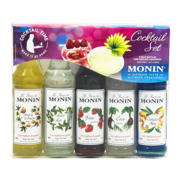 Monin Flavoured Cocktail Set 5 X 50ml