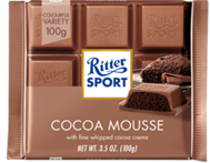 Rittersport Chocolate Mousse 100g